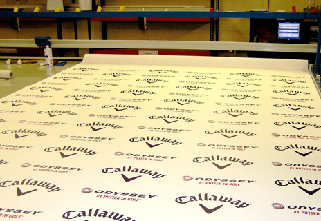 Branded Blinds for Callaway Golf!