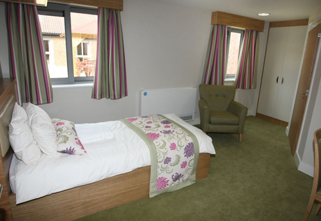 Cambian Appletree, County Durham Inner - curtains, tracking, bedding, blinds