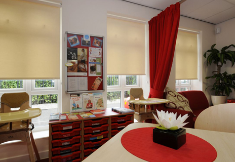Woodbridge Children's Centre - curtains and blinds