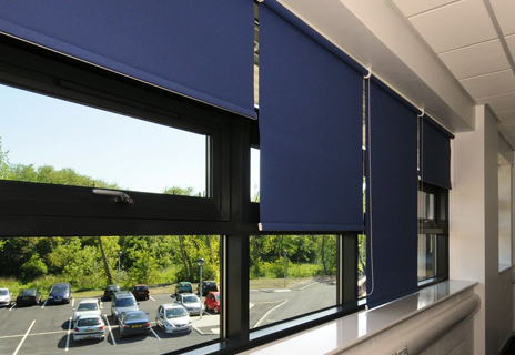 Kirk Hallam Community School - classroom blinds