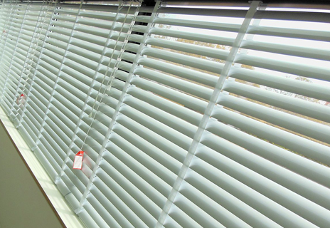 Leicester University - venetian blinds