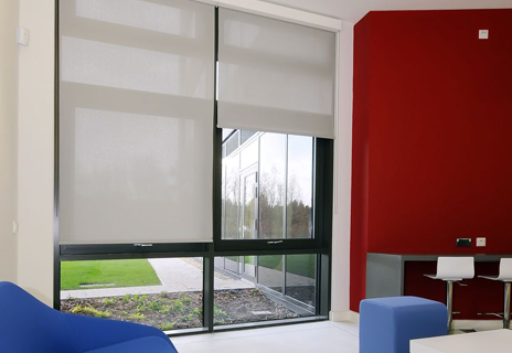 Loughborough University sports park - roller blinds
