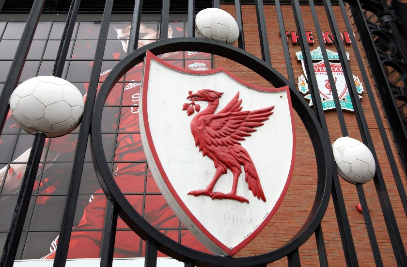 Custom Group Provides Shower Curtains for Liverpool FC's Anfield!