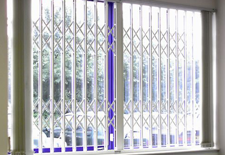 Internally fitted 'Diamond' Trellis gilles offer excellent security