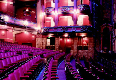 Bristol Hippodrome - Curtains and Seating