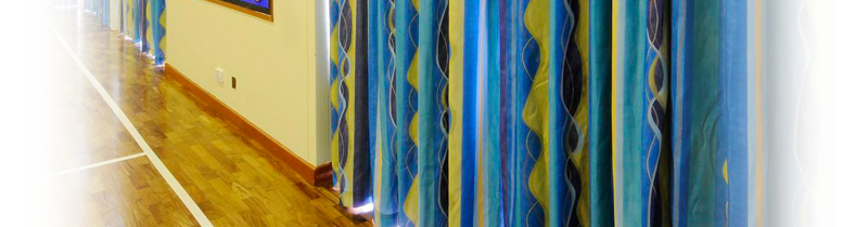 Commercial Curtains, Custom Curtains, Rails & Track